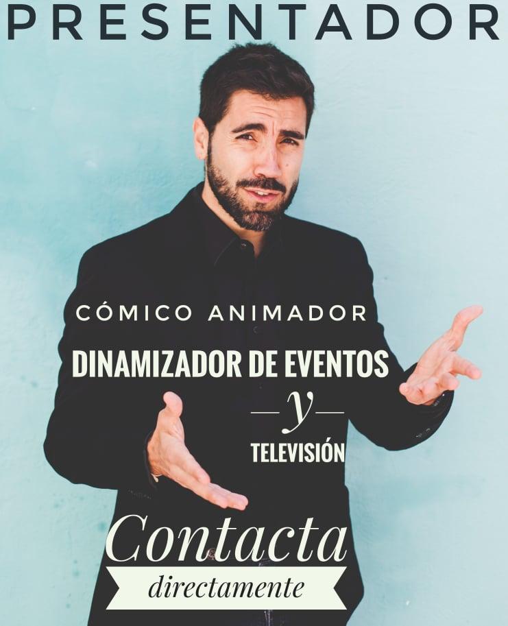 Rafa Durán showman, presentador, cómico, actor, animador, EVENTOS Y TELEVISIÓN