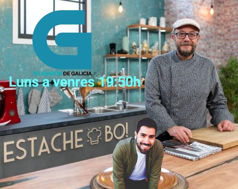 Xoanqui Ameixeiras y Rafa Durán, ESTACHE BO, Televisión de Galicia.